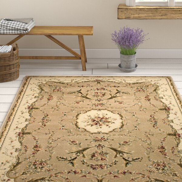 Sherley Cream Area Rug by August Grove