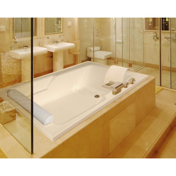 Designer Duo 72 x 48 Whirlpool Bathtub by Hydro Systems