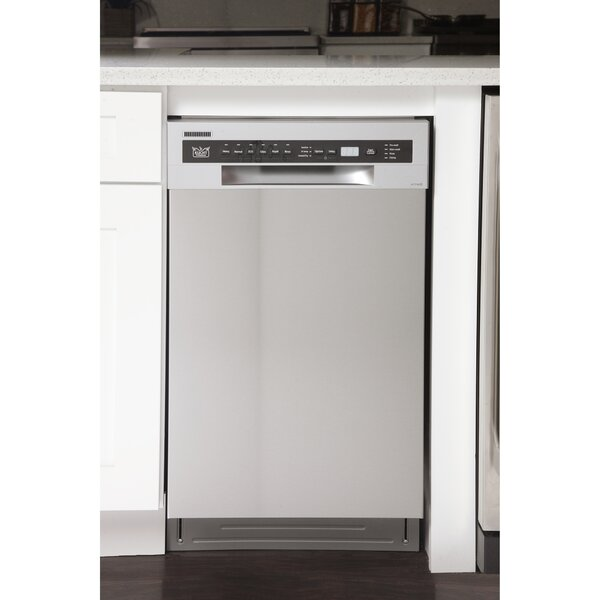Professional 18 46 dBA Built-In Dishwasher by Kucht