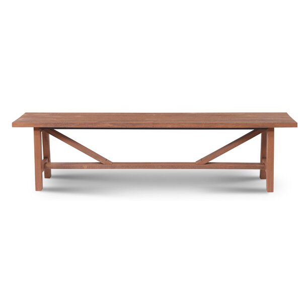 Mcgregor Wooden Picnic bench by Gracie Oaks