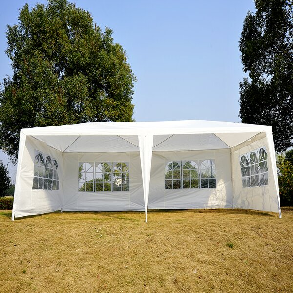 20 Ft. W x 10 Ft. D Steel Party Tent by Outsunny