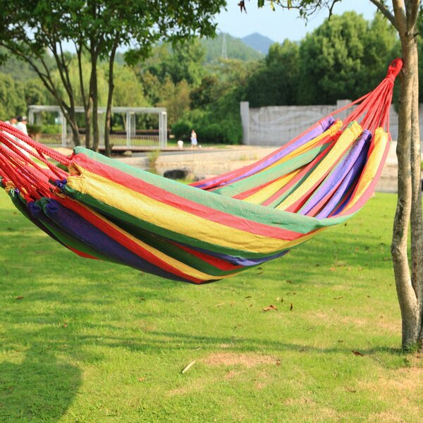 Kailey Naval-Style Outdoor Tree hammock by Winston Porter
