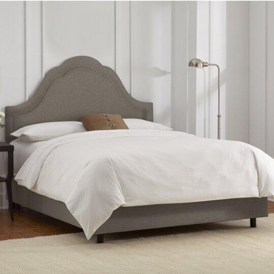 Haffner Upholstered Bed Charlton Home W001816183
