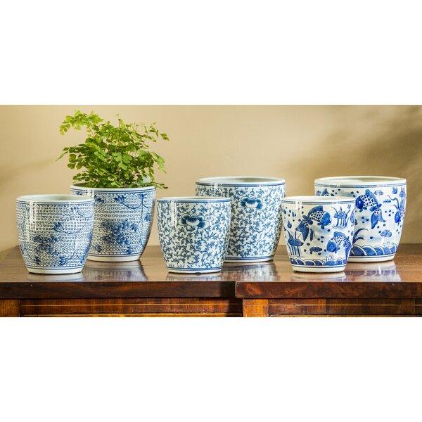 Kaphan Terracotta Pot Planter Set (Set of 6) by Rosecliff Heights