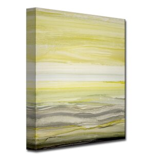 'Sun and Shade' by Norman Wyatt Jr. Painting Print on Wrapped Canvas by Ready2hangart