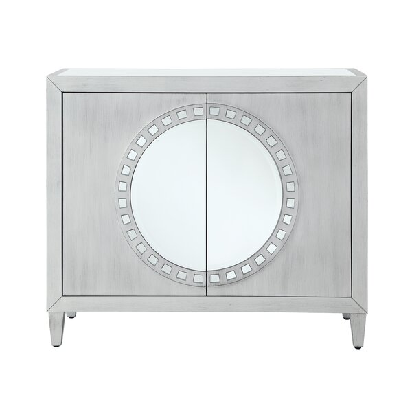 Mele 2 Door Mirrored Accent Cabinet By Bungalow Rose