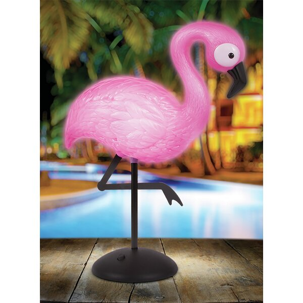 Pearmain Flamingo 12 Table Lamp by Bay Isle Home