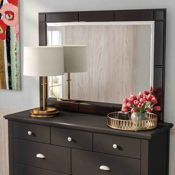 Cannonball Way Rectangular Dresser Mirror by Red Barrel Studio