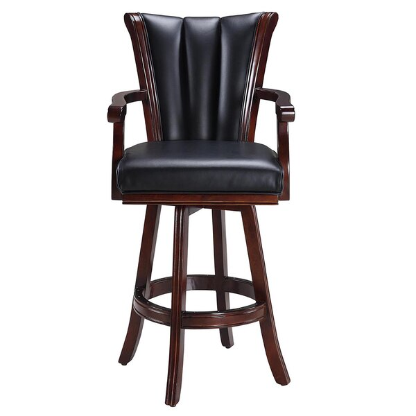 Avondale Swivel Bar Stool by Hathaway Games