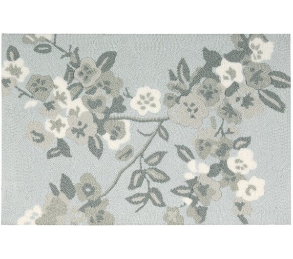 Chatelaine Hand-Tufted Light Blue Area Rug by August Grove