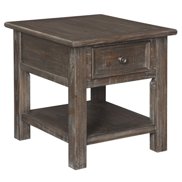 Kaetzel End Table With Storage By Charlton Home