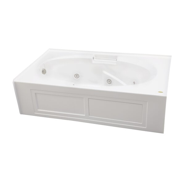 Majora 72 x 42 Skirted Soaking Bathtub by Jacuzzi®