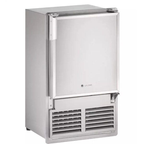 Marine Series Reversible 15 23 lb. Daily Production Built-in Ice Maker by U-Line