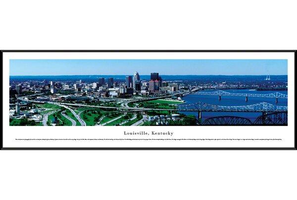 Louisville, Kentucky Standard Framed Photographic Print by Blakeway Worldwide Panoramas, Inc