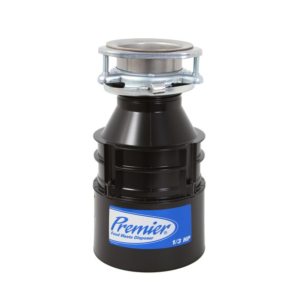 1/3 HP Continuous Feed Garbage Disposal by Premier Faucet