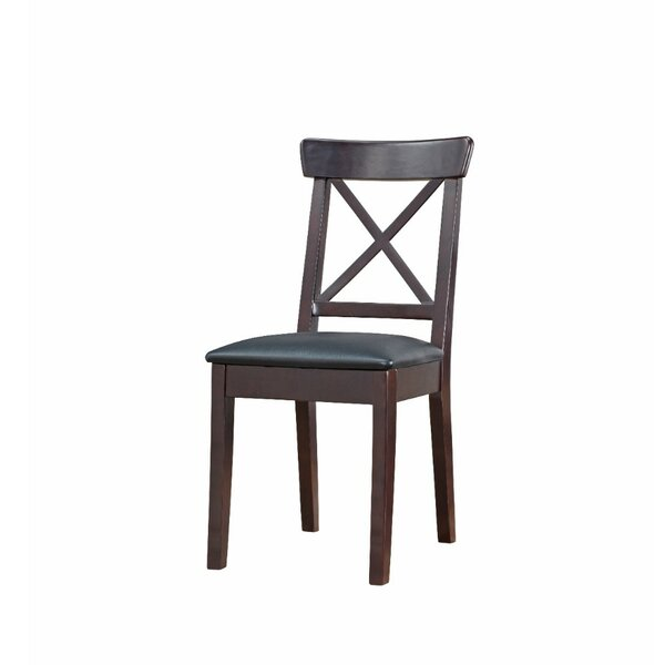 Celentano Upholstered Solid Wood Slat Back Side Chair (Set Of 2) By Winston Porter