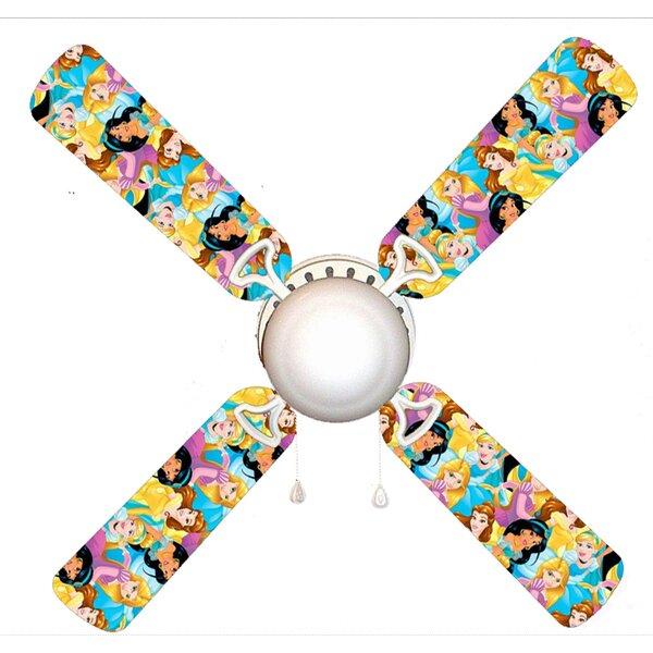 Disney Princesses 4 Blade Ceiling Fan