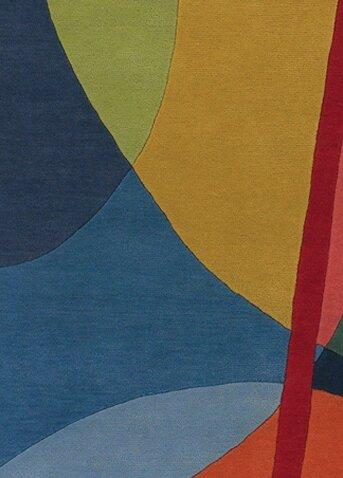 Stickel Geometric Wool Area Rug by Latitude Run