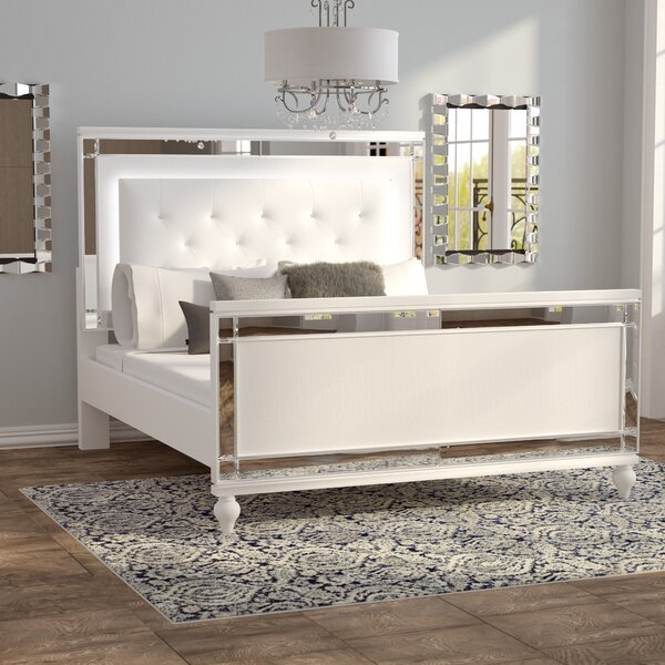 Rivage Upholstered Panel Bed by Willa Arlo Interiors