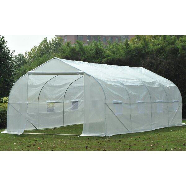 9.41 Ft. W x 19.5 Ft. D Commercial Greenhouse by Outsunny