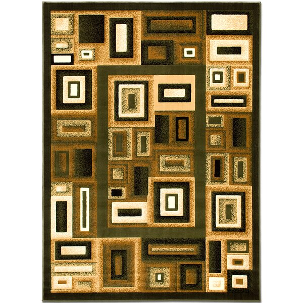 Green Area Rug by AllStar Rugs
