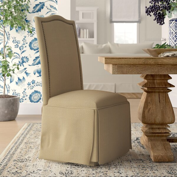 Alison Skirted Upholstered Parson Chair (Set of 2) by Birch Lane™ Heritage