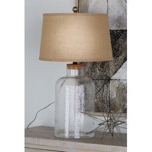 Fillable clear glass lamp wayfair fillable 29 table lamp set of 2 aloadofball Images