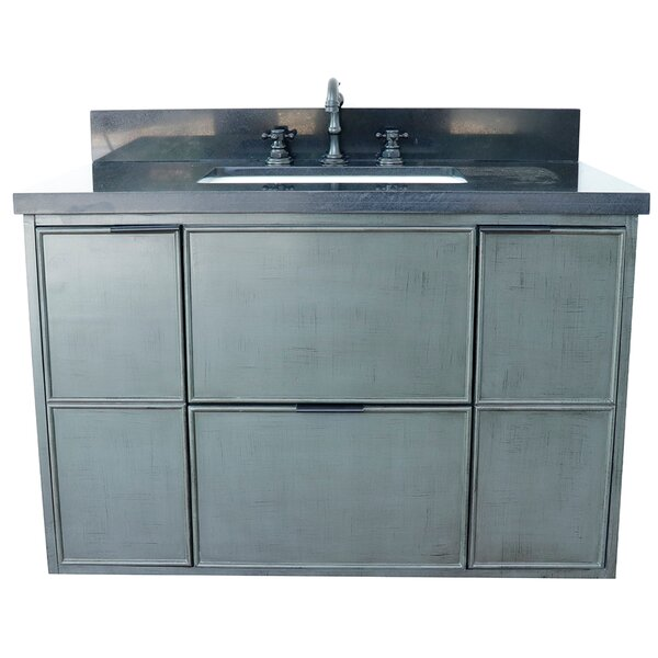 Arthurson 37 Single Wall Mount Vanity by Bloomsbury Market