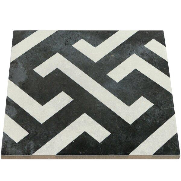 Anabella 9 x 9 Porcelain Field Tile in Mori by Splashback Tile