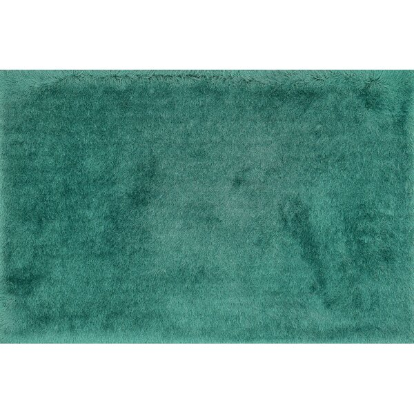 Hersi Hand-Tufted Emerald Area Rug by Latitude Run