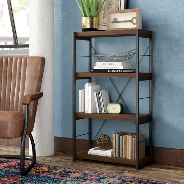 Soloman Etagere Bookcase by Modern Rustic Interiors