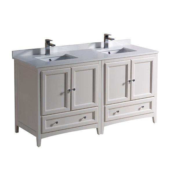 Oxford 60 Double Bathroom Vanity Set by Fresca