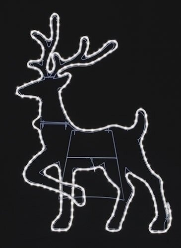 Deer Neon Flex Yard Art by Roman, Inc.