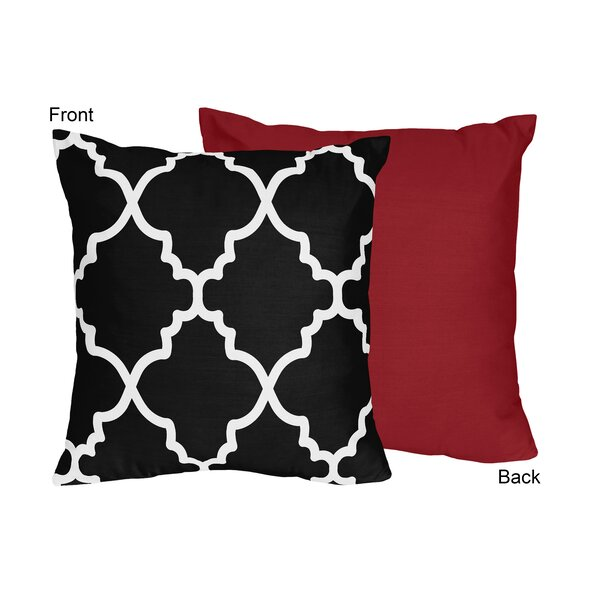 Trellis Throw Pillow by Sweet Jojo Designs