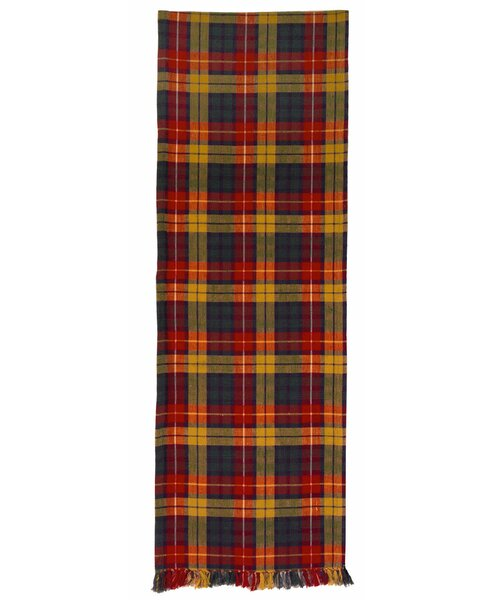 Stringfellow Plaid Table Runner (Set of 2) by Millwood Pines