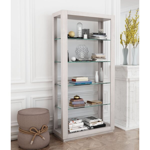 Xander Tall Standard Bookcase by August Grove