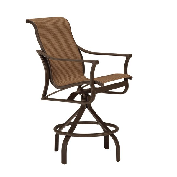 Corsica Swivel 30 Patio Bar Stool by Tropitone