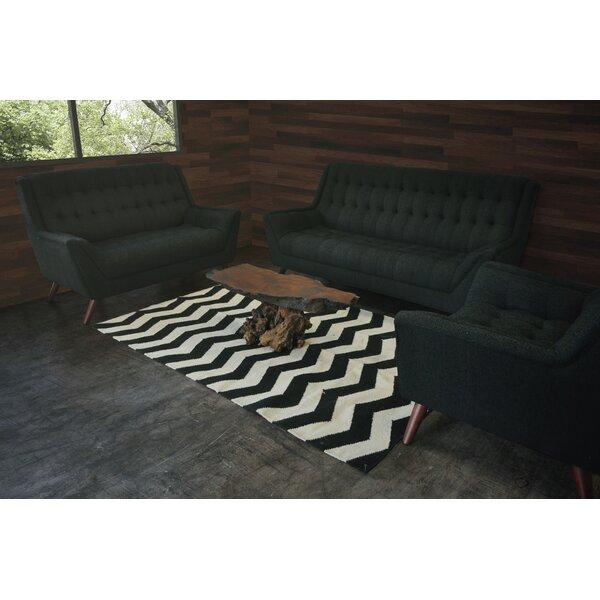 Aldo 3 Piece Living Room Set by Brayden Studio