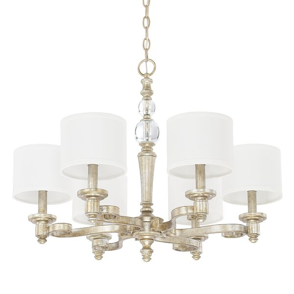 Hinshaw 6-Light Drum Chandelier by House of Hampton