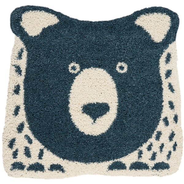 Holton Blue Area Rug by Zoomie Kids