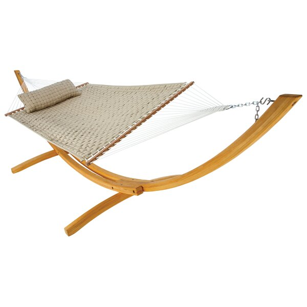 Frank Softweave Quilted Double Tree Hammock by Breakwater Bay