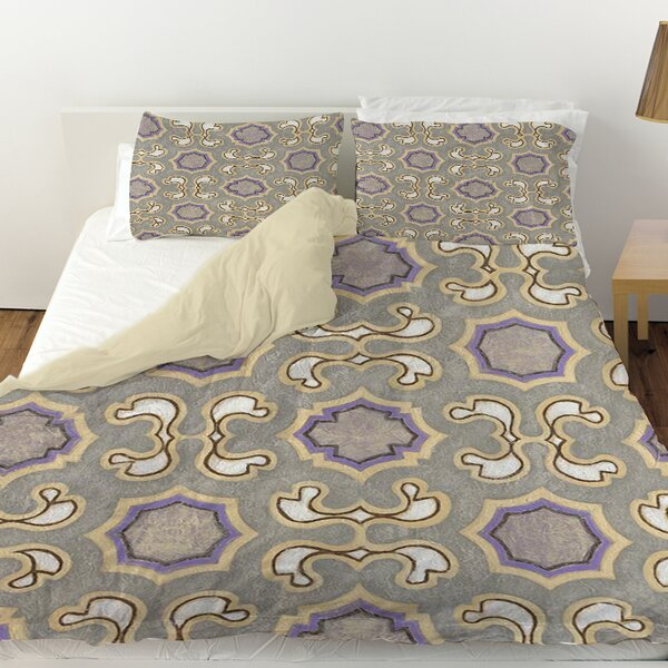 Plum Scene Duvet Cover by Manual Woodworkers & Weavers