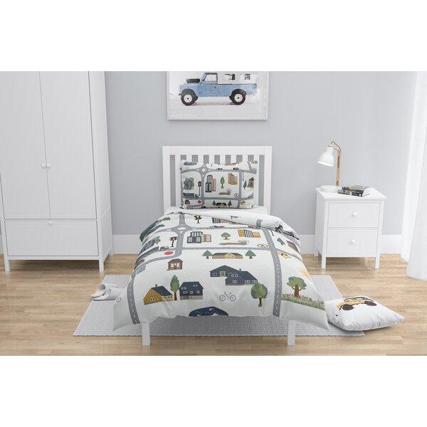 LosPalmos Map Comforter Set