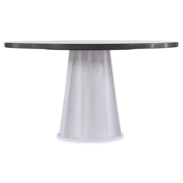 Melange Empire State of Mind Ped Dining Table by Hooker Furniture