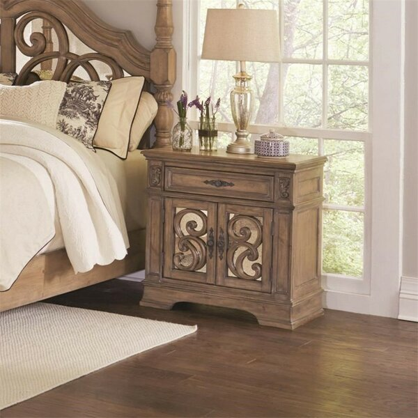 Antonie 1 Drawer Nightstand by August Grove