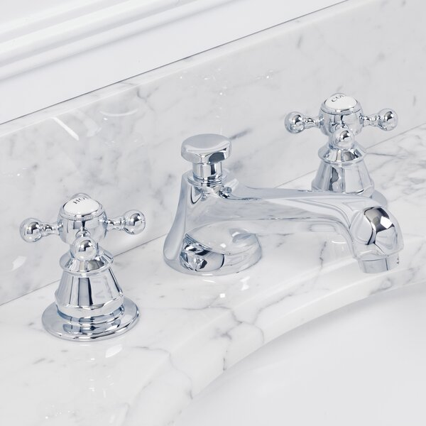 Carlson Lavatory Widespread Faucet With Drain Assembly By Dcor Design.