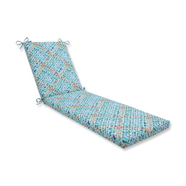 Vada Opal Indoor/Outdoor Chaise Lounge Cushion