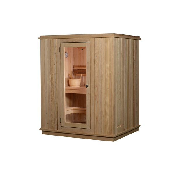 Madison 3 Person Traditional Steam Sauna by Almost Heaven Saunas LLC