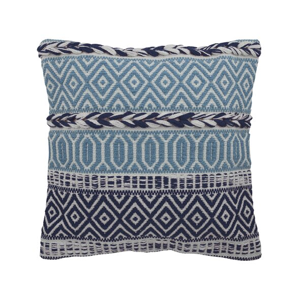 Talan Handmade Outdoor Square Pillow Cover and Insert