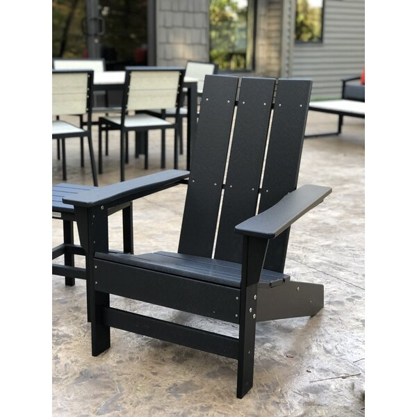 Oakdale Plastic Adirondack Chair by Breakwater Bay